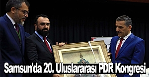 Samsun'da 20. Uluslararası PDR Kongresi