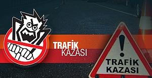Samsun Ordu yolunda Trafik kazası