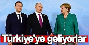 Türkiye'ye geliyorlar