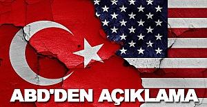 ABD, Türkiye'nin sınır güvenliğine bağlıyız