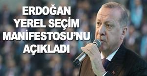 Erdoğan Seçim Manifestosu'nu açıkladı