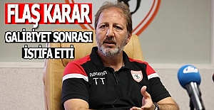 Samsunspor'da TAŞKIN dönemi kapandı