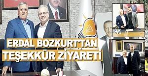 Erdal Bozkurt Başkan Adayı Ersoy`a...