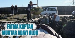 Fatma Kaptan muhtar adayı oldu