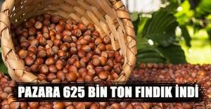 PAZARA 625 BİN TON FINDIK İNDİ