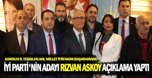 İYİ Parti Bafra Belediye Başkanı Rızvan...