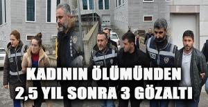 Samsun'da bir kadının ölü bulunması 2 gözaltı