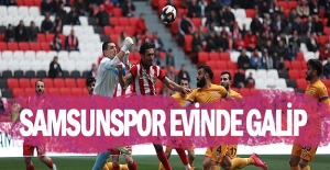Samsunspor Eyüpspor'u tek golle geçti