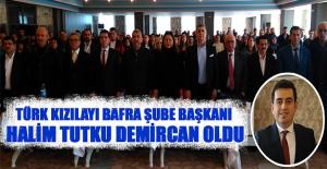 Türk Kızılayı Bafra Şube Başkanı  Demircan Oldu