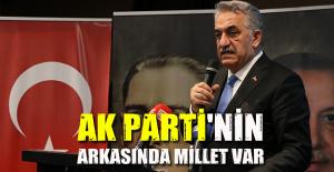 AK Parti'nin siyasetinin merkezinde millet var