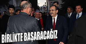 Başkan Zihni Şahin, Kardelen Sitesi sakinleriyle buluştu