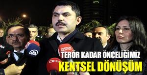 Çevre ve Şehircilik Bakanı Samsun'da açıklama yaptı