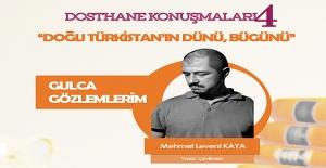 Dosthane Kitap Kahve'de Doğu Türkistan konuşulacak!