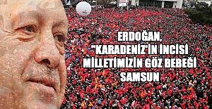 Erdoğan Samsun miting