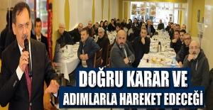 Mustafa Demir Mecidiye esnafını dinledi