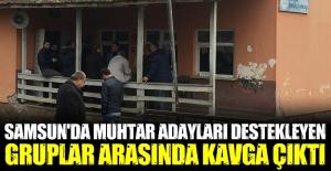 Samsun'da Yerel Seçimde kavga 1 yaralı