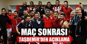 Samsunspor'da galibiyet sonrası açıklama
