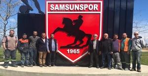 Batı Park'a Samsunspor logosu