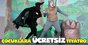 Samsun'da çocuklara ücretsiz tiyatro