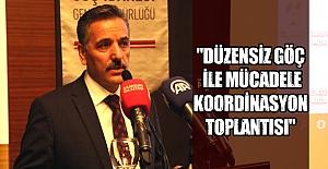 Samsun'da Düzensiz Göç toplantısı yapıldı