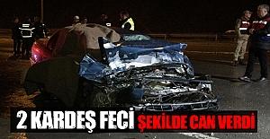 Samsun#039;da Trafik Kazası 2 ölü
