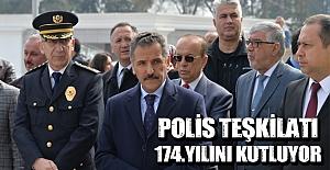 Türk Polis Teşkilatının kuruluşunun 174. yılı kutlanıyor