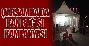 Çarşamba'da kan bağışı kampanyası