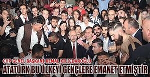 Kılıçdaroğlu Samsun'da gençlere seslendi