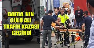 Bafra`nın Gülü Ali Trafik Kazası...