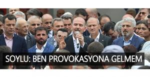 Bakan Soylu'dan provokasyon açıklaması