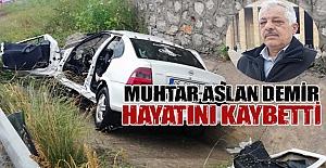 Samsun`da Kaza 1 ölü