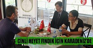 Çinli Heyet Fındık İçin Karadeniz'de