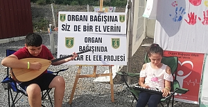Kapıkaya`da Organ Bağışı