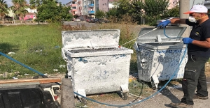 19 Mayıs'ta Konteynerler Dezenfekte Edildi