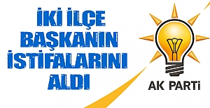 AK Parti ilçe başkanlarının istifası...