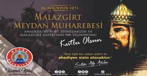 Başkan Kılıç'ın Malazgirt Zaferi Ve Büyük Tarruz Yıl Dönümü Mesajı