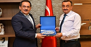 Başkan Demir'den 'ADALET' turu