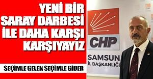 CHP Samsun İl Başkanlığının Kayyum açıklaması