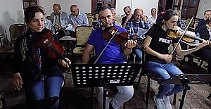 Bafra Musiki Cemiyeti Çalışmalara...
