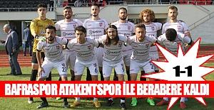 Bafraspor ligi 1 puan İle Açtı