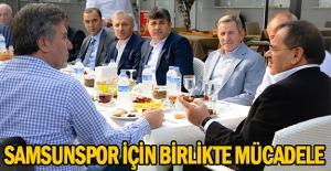 Başkan Demir Kulüp yöneticileri ve STK temsilcileri, ile buluştu