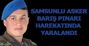 Samsunlu Asker Barış Pınarı harekatında...