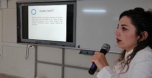 Bafra'da öğrencilere Diyabet Eğitimi verildi