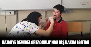 Nazmiye Demirel Ortaokulu' Nda Diş...