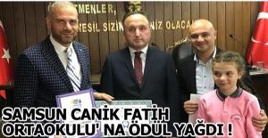 Samsun Canik Fatih Ortaokulu#039;...