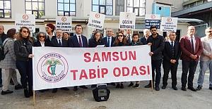 Türk Tabipleri Birliği tek yürek oldu
