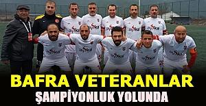Bafra Veteranlar Şampiyonluk yolunda