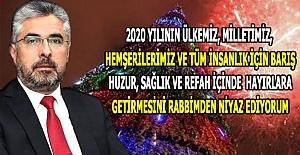 Başkan Ersan Aksu'nun Yeni Yıl Mesajı