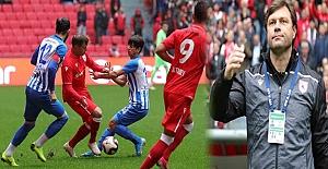Samsunspor 3 puanı 3 golle aldı
