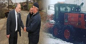 Canik'te kış günlerinde ısıtan proje